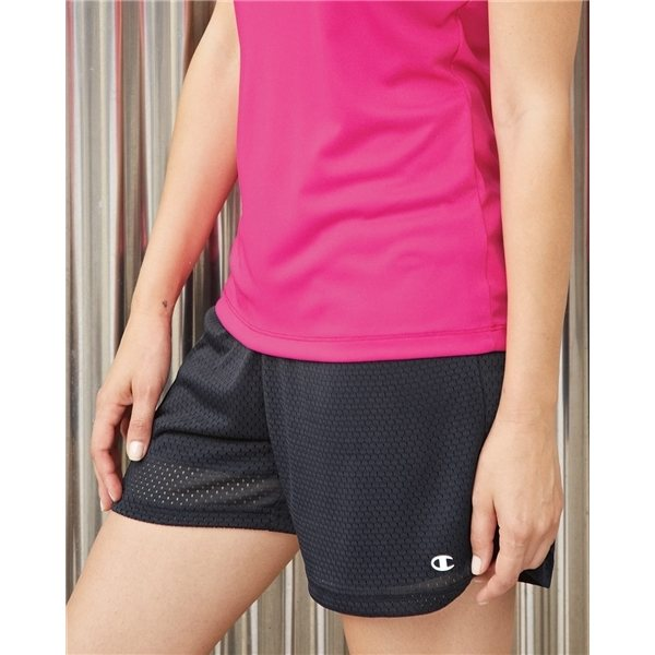 Promotional Champion Ladies Tagless Active Mesh Shorts