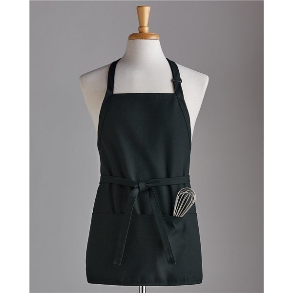 Promotional Chef Designs Short Premium Bib Apron