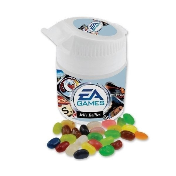 Promotional Car Holder Jar with Jelly Bellies