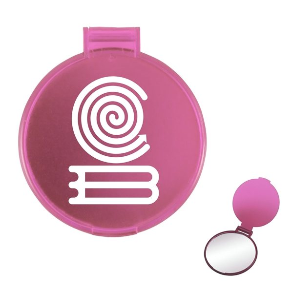 Promotional Round Compact Mirror