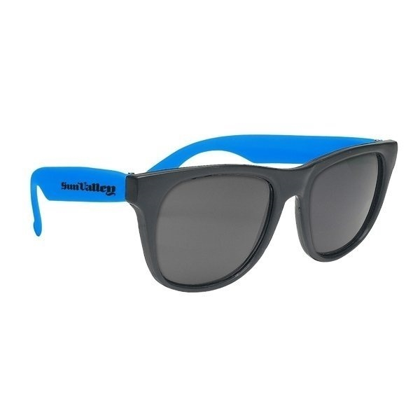 Promotional Vibrant Sunglasses With Black Frame