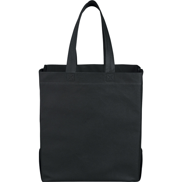 Promotional Liberty Heat Seal Non - Woven Grocery Tote