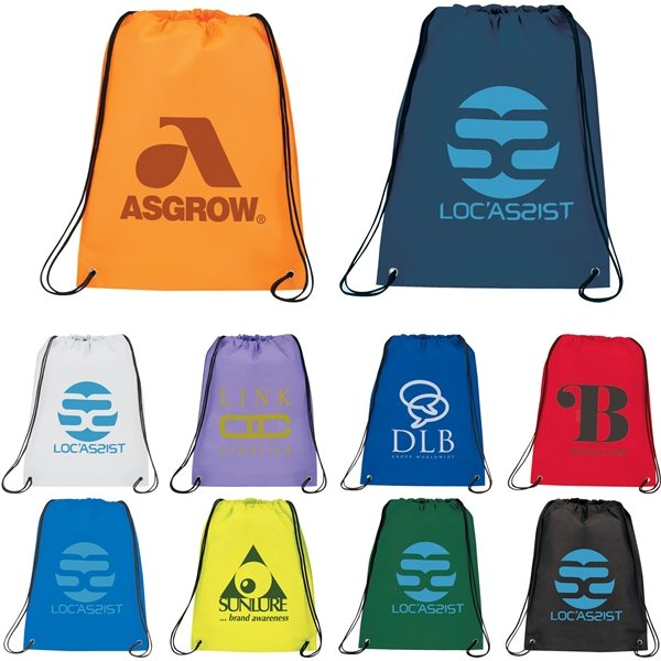 Promotional Champion Heat Seal Drawstring Bag