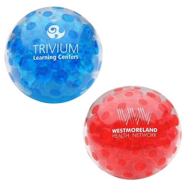 Promotional Bead Squeeze Gel Ball - Stress Relievers