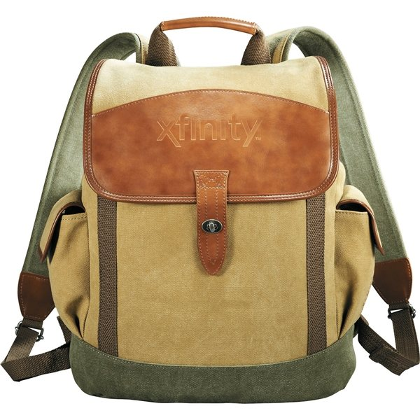 Promotional Cutter Buck(R) Legacy Cotton Canvas Backpack