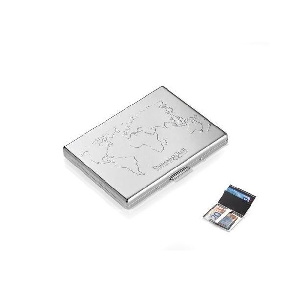 Promotional Troika Business World Credit Card Case