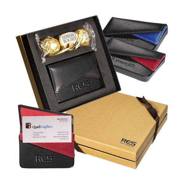 Promotional Ferrero Rocher(R) Chocolates Card Case Gift Set