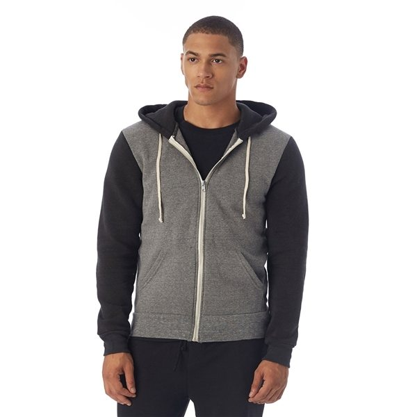 Promotional Alternative Rocky Eco - Fleece Colorblocked Hoodie