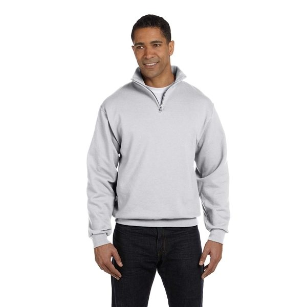 Promotional JERZEES(R) 8 oz NuBlend(R) Quarter - Zip Cadet Collar Sweatshirt