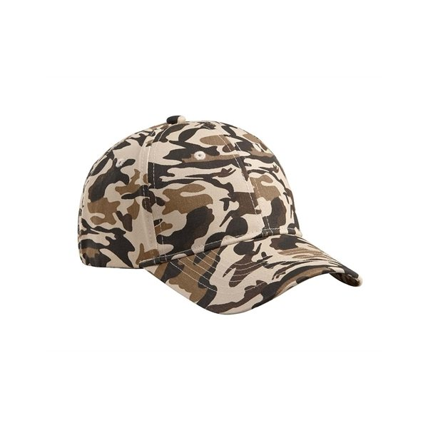 Promotional Big Accessories Structured Camo Hat