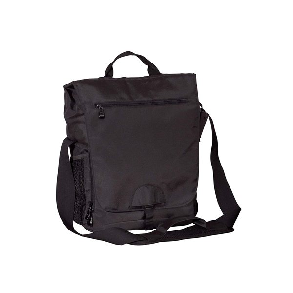 Promotional BAGedge Vertical Messenger Tech Bag
