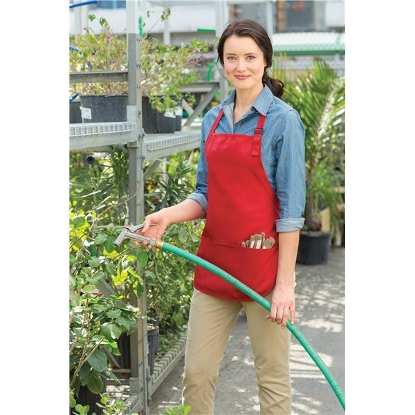 Promotional Port Authority Medium Length Apron with Pouch Pockets