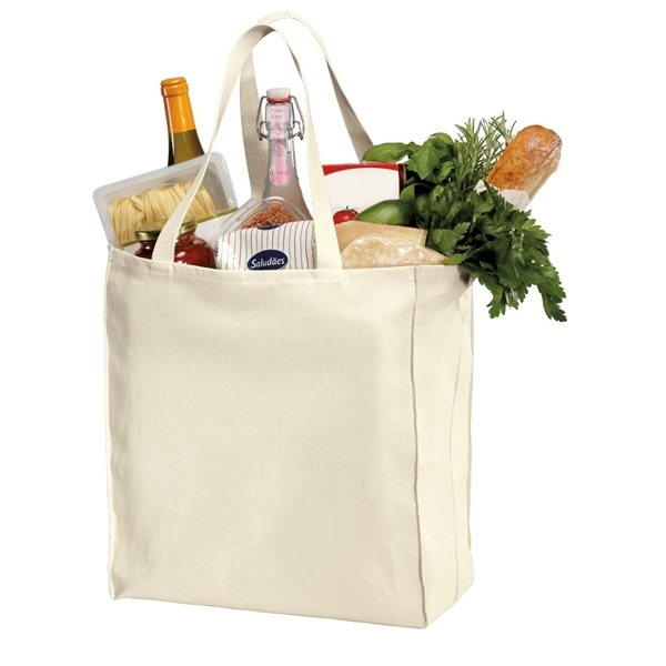 Promotional Port Company Over - the - Shoulder Grocery Tote