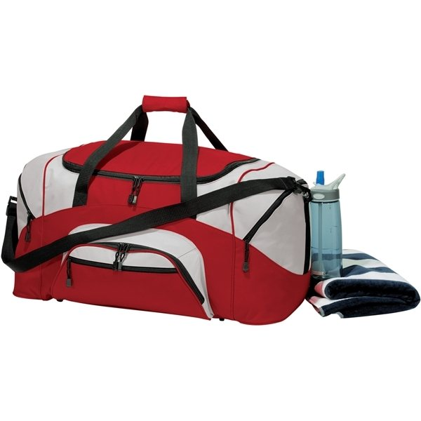 Promotional Port Company Colorblock Sport Duffel
