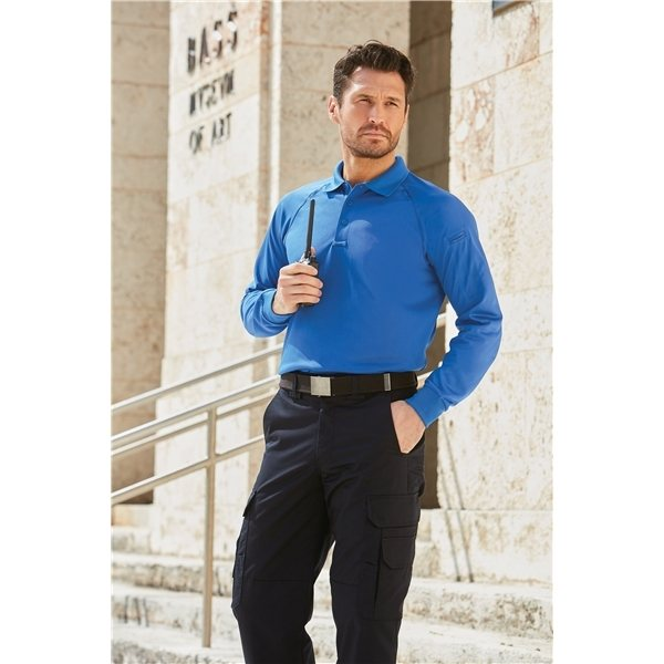 Promotional CornerStone Long Sleeve Select Snag - Proof Tactical Polo