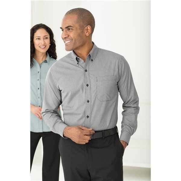 Promotional Red House Mini - Check Non - Iron Button - Down Shirt