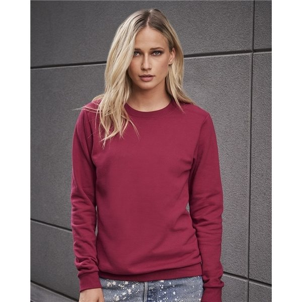 Promotional Anvil Ladies Combed Ringspun Fashion Crewneck Sweatshirt