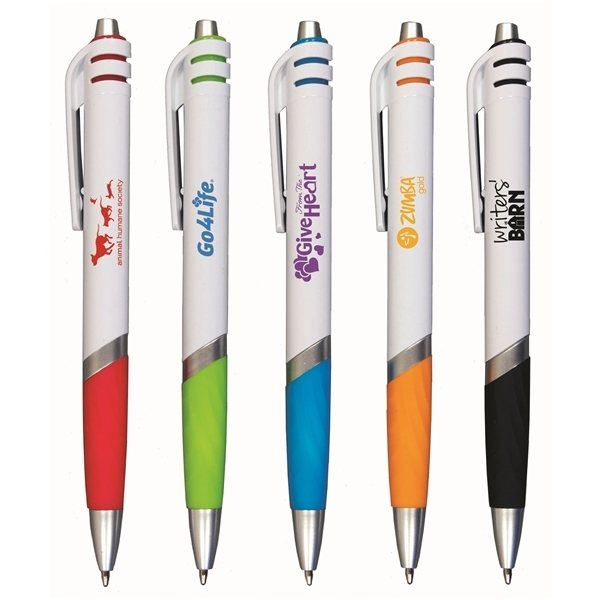 Promotional Colorful grip pen