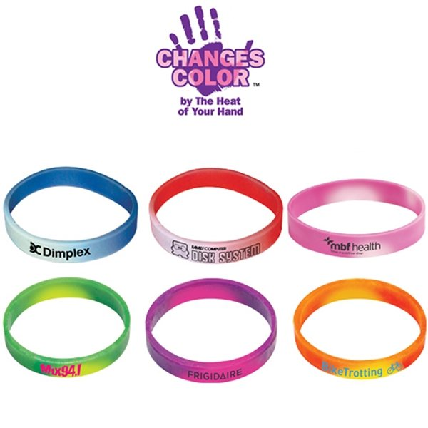 Promotional Color Changing Mood Bracelet