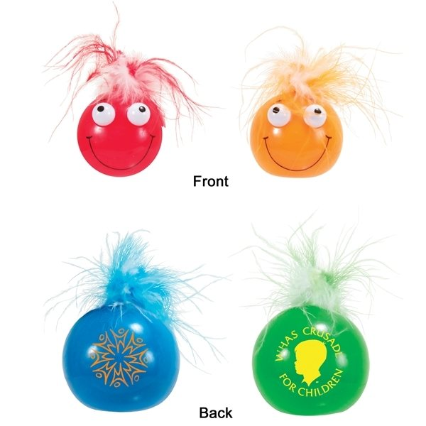 Promotional Smilin Eye Poppin Pal - Stress Relievers