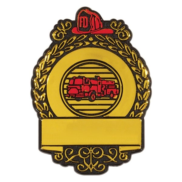 Promotional Fire Badge