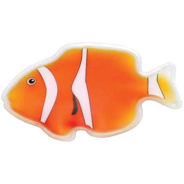 Promotional Orange Clown Fish Chill Patch