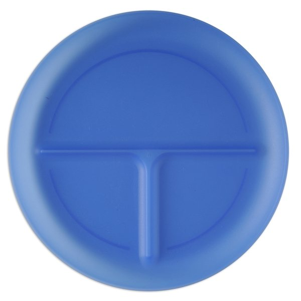 Promotional Solid - Color Three Portion Plate
