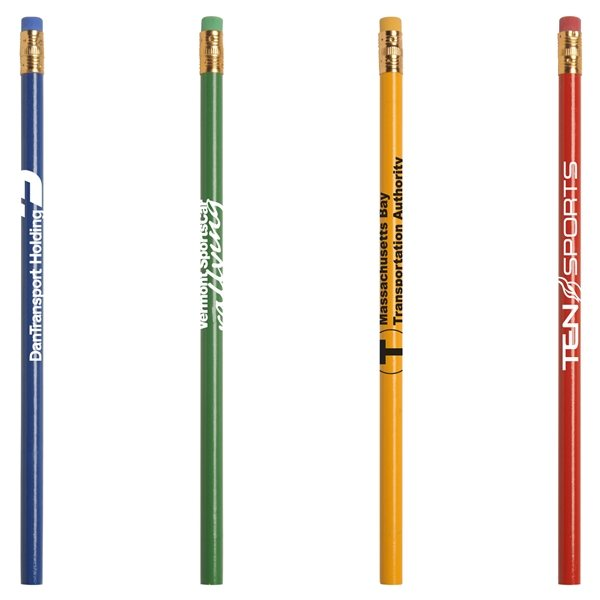 Promotional Jo - Bee Recycled Newspaper Colored Pencil