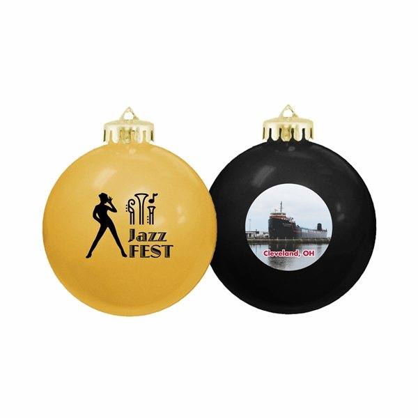 Promotional Made in the USA Shatterproof Ornaments