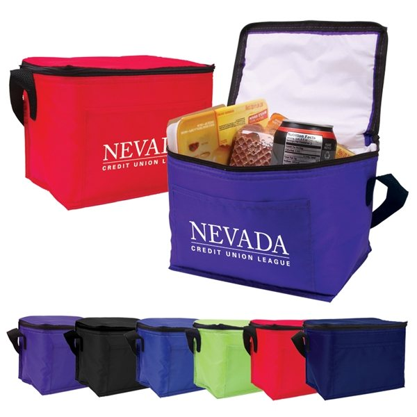 Promotional 6- Pack Insulated Cooler Bag