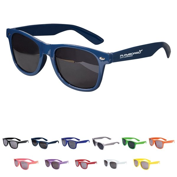 Promotional Glossy Plastic Sunglasses