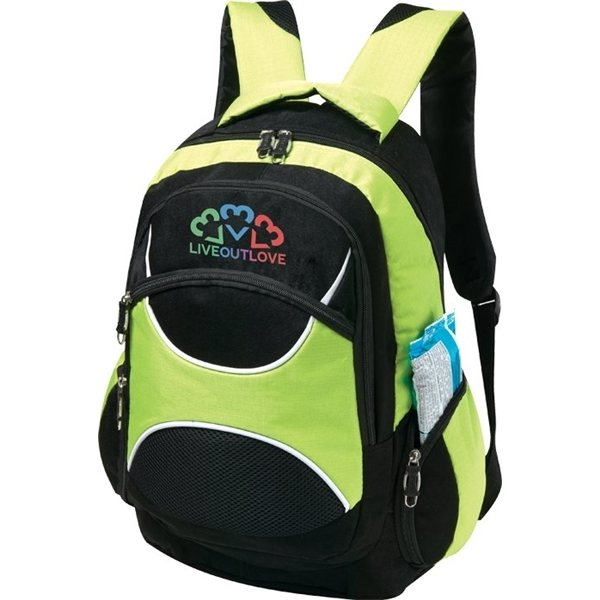Promotional Polyester Dogbone Backpack