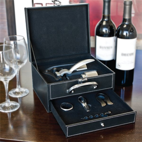 Promotional Calabria - 8 Piece Wine Tool Set