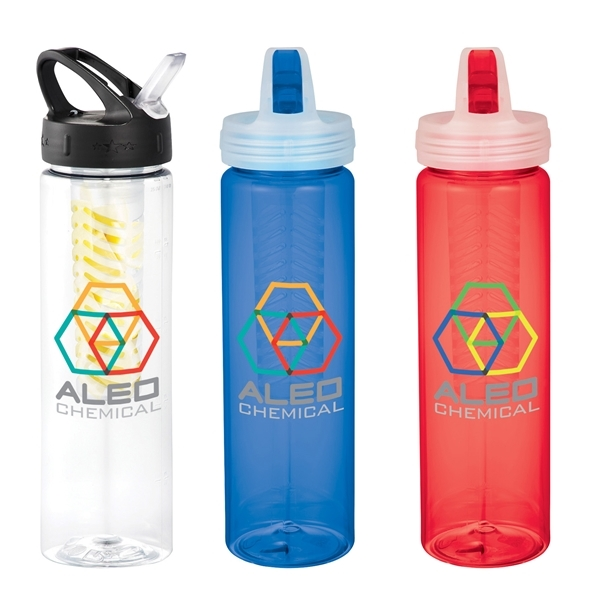 Promotional Fruit Infuser 25 oz Sports Bottle