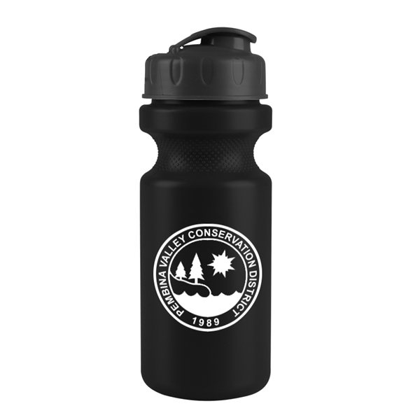 Promotional 22 oz Eco - Cycle Bottle with Flip Top Lid