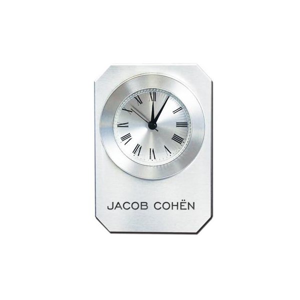 Promotional Metal On Glass Alarm Clock