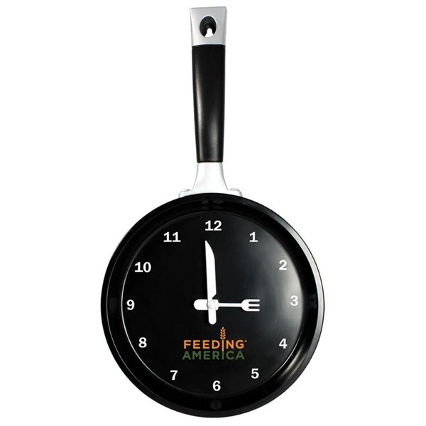 Promotional Frying Pan Clock
