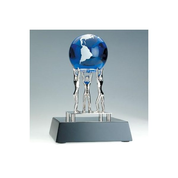 Promotional Together We Can Award W / Blue Globe