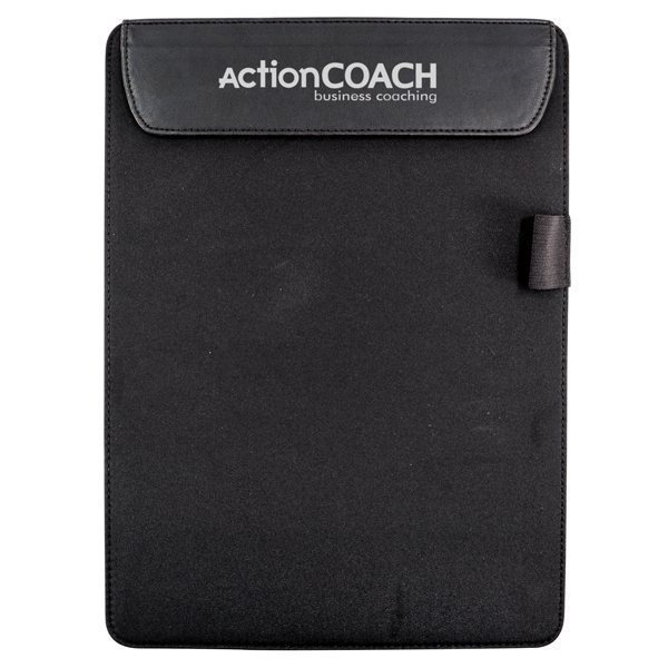Promotional Leather - like clipboard