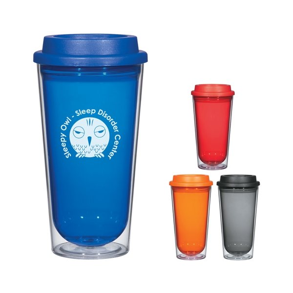 Promotional 16 oz Echo Double Wall Tumbler