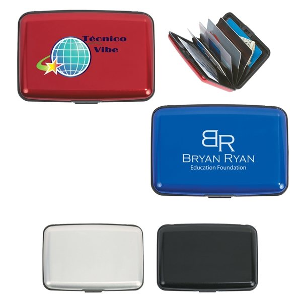 Promotional Aluminum Card Case