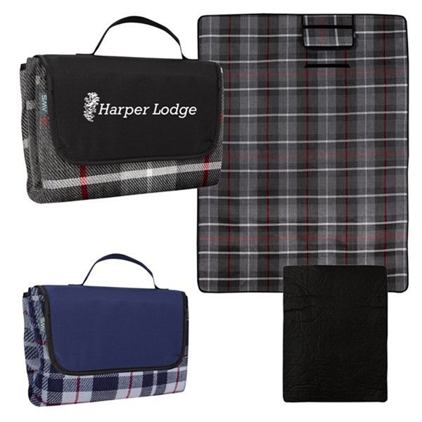 Promotional Highlander Roll - Up Blanket