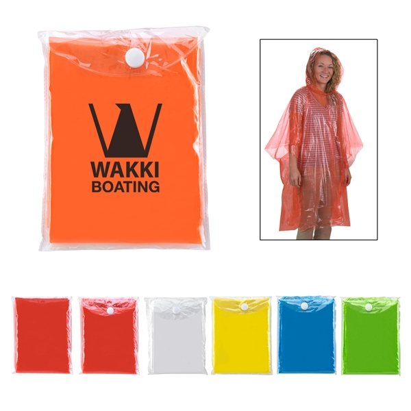 Promotional Disposable Poncho