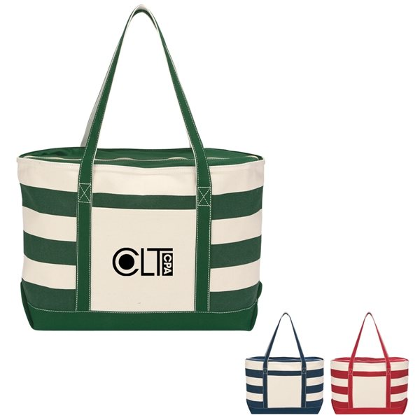 Promotional Cotton Canvas Nautical Tote Bag