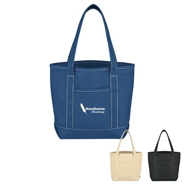 Promotional Small Cotton Canvas Yacht Tote Bag
