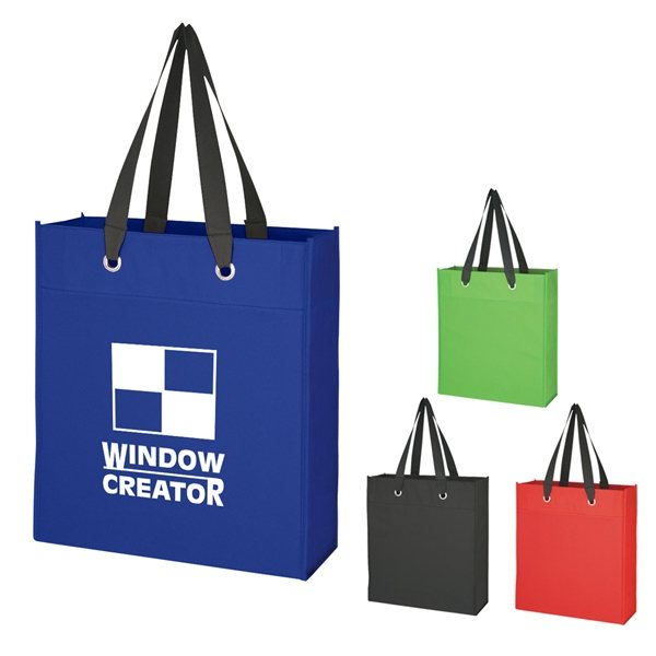 Promotional Non - Woven Grommet Tote Bag