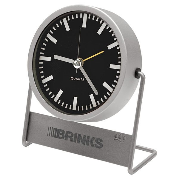 Promotional Metal Desk Clock