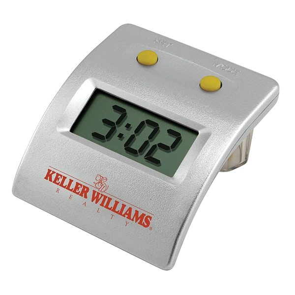 Promotional Water LCD Powered Clock