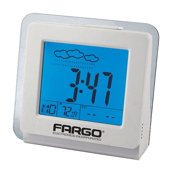Promotional Desktop Weather Clock with USB Connection