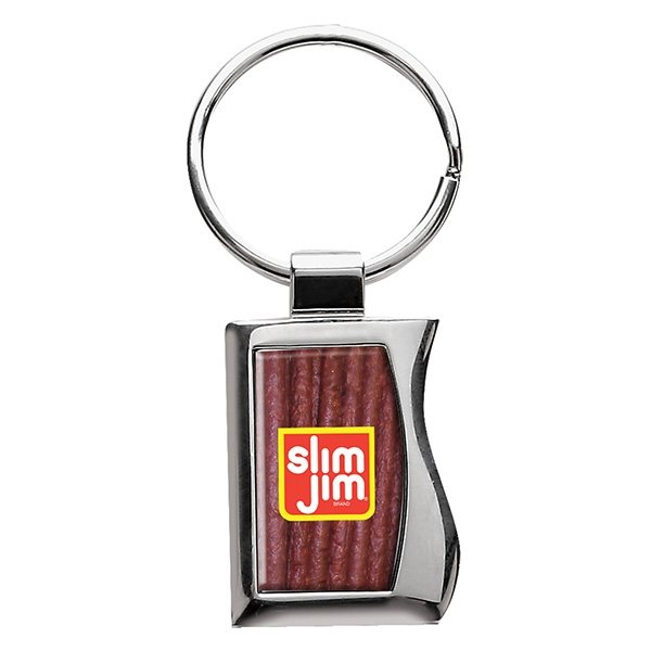 Promotional Silver Metal Keychain